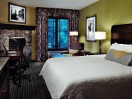 Hilton Hotels lodging offers clean, comfortable rooms.