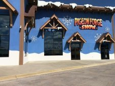 One of the most unique amusement parks makes snow for tubing and playing! Pigeon Forge Snow is fun for everyone.
