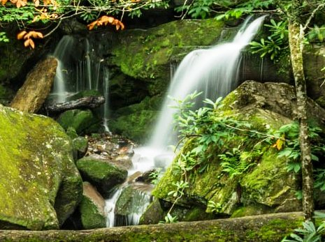 Beautiful Waterfalls Grotto Falls