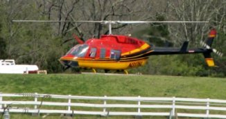 Sevierville Attractions Helicopter Rides offer lovely views of the Smoky Mountains!
