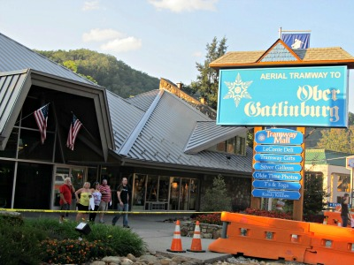 While visiting Gatlinburg, follow the Ober Gatlinburg sign into a world of excitement and fun.
