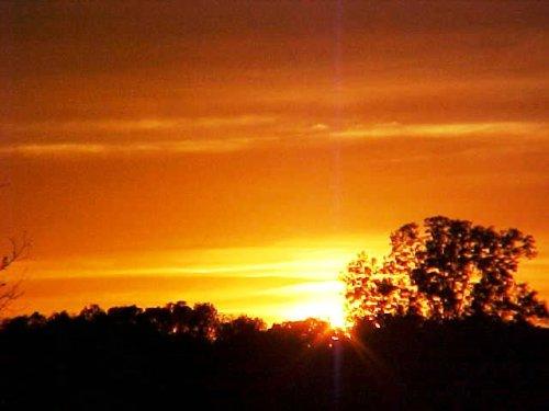 jesus-face sunset