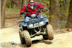 Adam On 4 Wheel