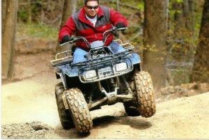 Adam On 4 Wheel