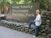 It's about-me with the Smoky Mountain Sign