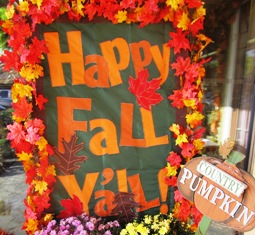 Activity Holidays Happy Fall  Y'all