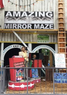 The Amazing Mirror Maze in Gatlinburg brings hours of fun to Gatlinburg.