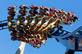 Those Amusement Parks Roadside Rides are lots of fun!