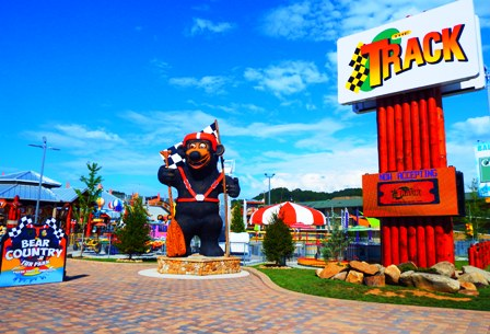 Pigeon Forge Amusement Parks The Track is filled with fun things to do for the whole family.