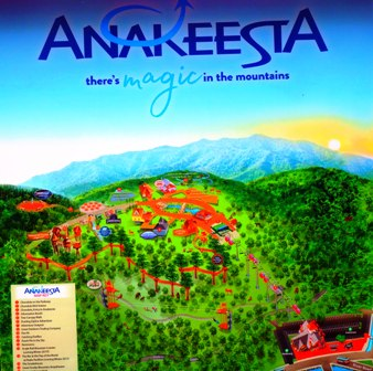 Once you get into Gatlinburg start looking for an Anakeesta sign!