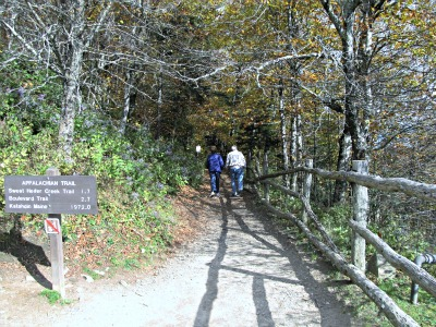 It's an exciting adventure to hike along the Appalachian Trail!