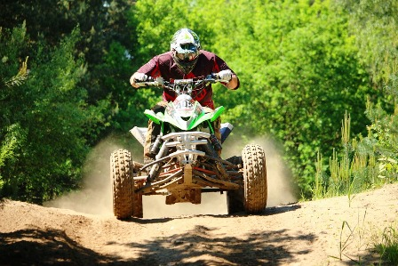 Bluff Mountains Rentals ATV Adventures offer exciting rides while enjoying lovely mountain views.
