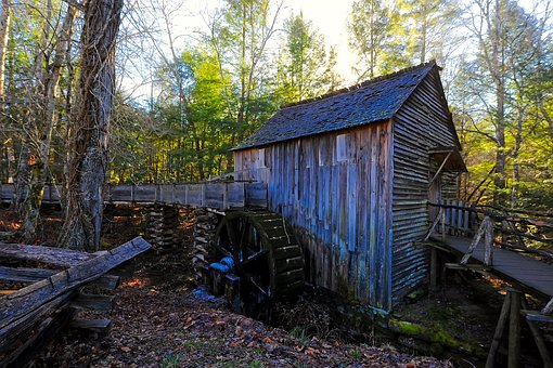 There is lots of history behind this Cades Cove Bus Tour Grist Mill.