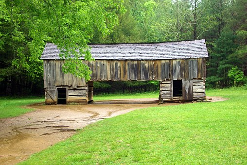 This Cades Cove Bus Tour Landmark is a popular site.
