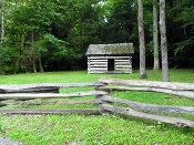 This unique Cades Cove Fence holds lots of history!