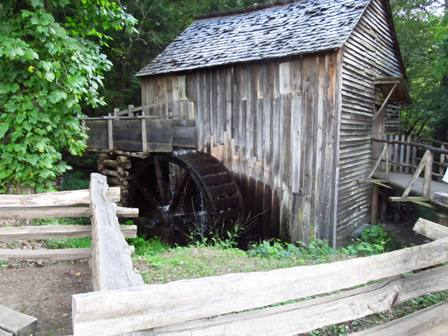 There is lots of history behind the Cades Cove Mill