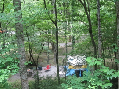 camping-in-smoky-mountains campground