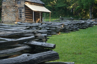 see cabins as you go camping-in-smoky-mountains