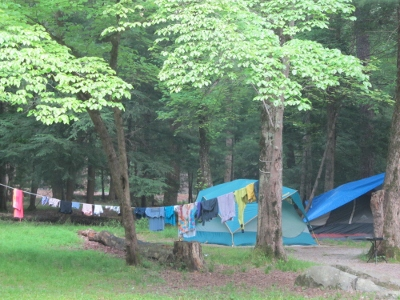 a tent is needed for camping-in-smoky-mountains