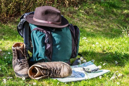 As you plan your camping location pack up everything needed for the trip.