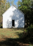 This Cataloochie School House had only one room.
