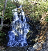 Visit Cataract Falls in the Great Smoky Mountains National Park