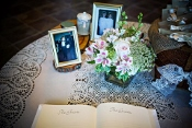 Memories begin at the Chapel of love table.