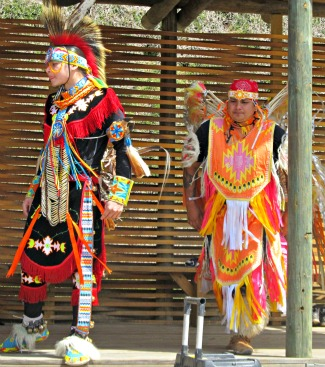 The Cherokee Indian Dances are amazing and many are spiritual.
