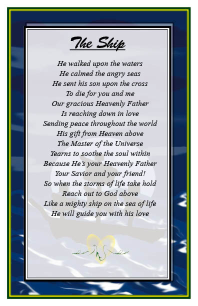 Hop aboard christian-poems-7-the ship