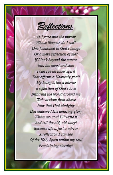 See Reflections with christian-poems-9