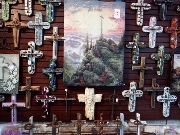 Christ In The Smokies Crosses are for sale in the gift shop of the museum.