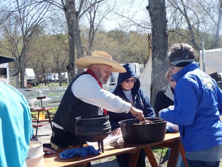 The Chuck Wagon Luncheon is one of the Biggest highlights of the Chuck Wagon Cook Off in Pigeon Forge.