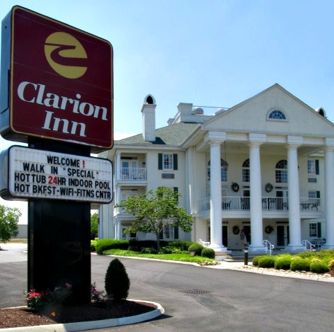 clarion inn located at sevierville-tennessee