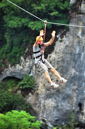 Climb Works Zip Lines are the perfect way to view the beautiful Smoky Mountains!