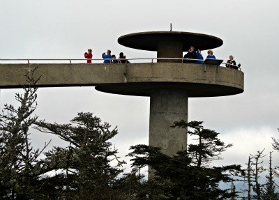 Thousands of Clingmans Dome Tourists come and see these amazing views each year!