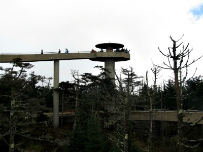 Thousands walk to the top of the Clingmans Dome tower each year to get a glimpse of God's beautiful creation.