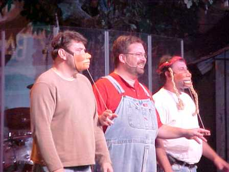 You might even become part of the Comedy Barn Show during one of their audience participation segments!
