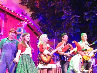 There's lots of good Comedy Barn Christmas Fiddling going on during this delightful show.