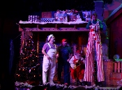Don't let this Comedy Barn Christmas Giant scare you!