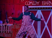 You've not experienced juggling until you've seen the Comedy Barn Christmas juggler!