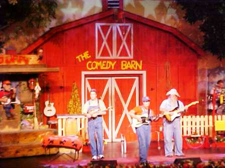 Rock to some of your favorite holiday tunes with the Comedy Barn Christmas singers.
