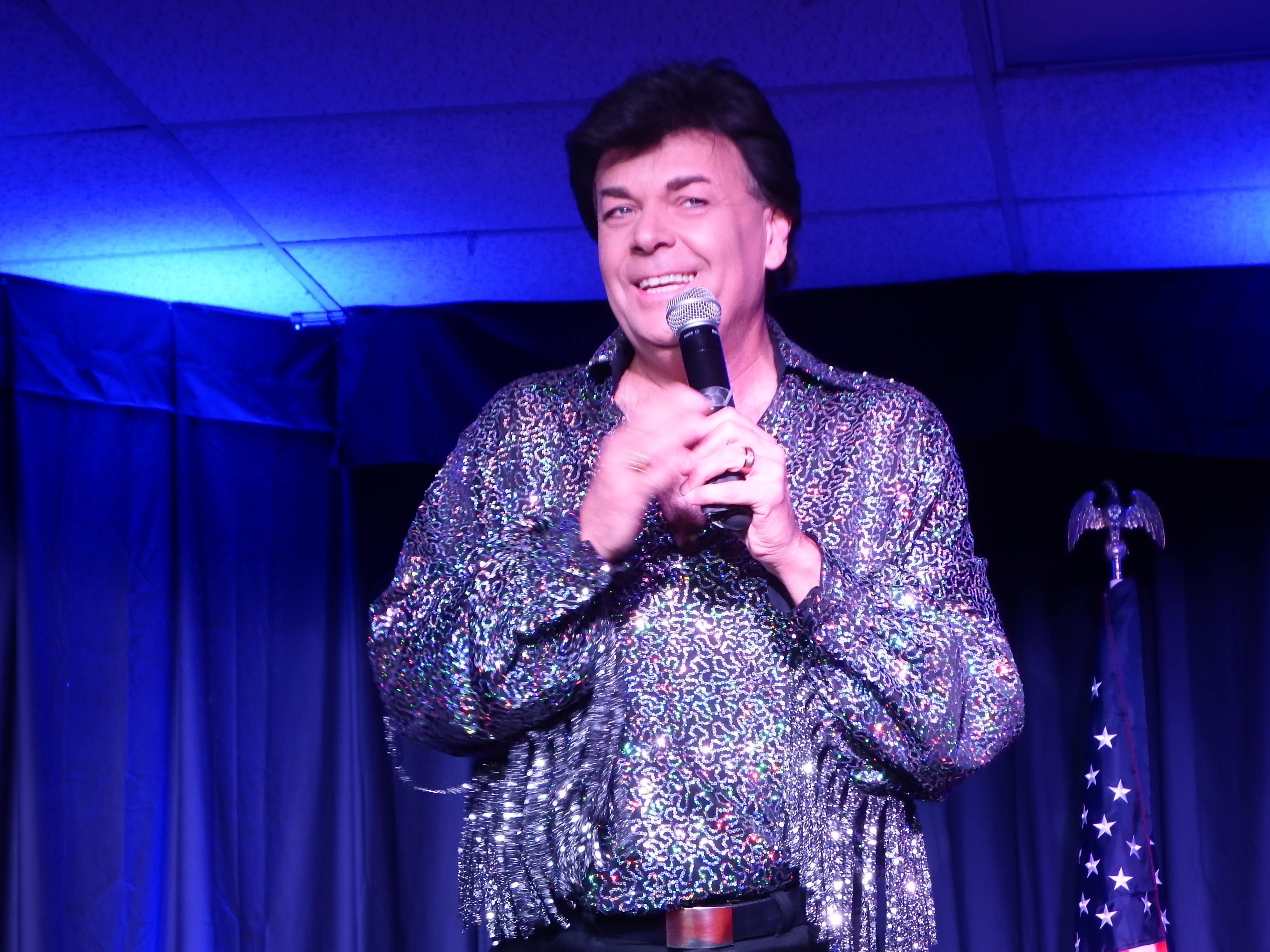 During the Conway Twitty Tribute Travis James does Elvis Presley impersonations