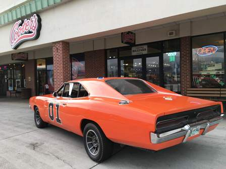 At Cooter's Place General Lee is waiting to meet YOU!
