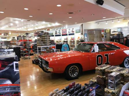There's lots of shopping and amazing things to see inside the Cooters Place Museum.
