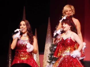 These Country Tonite Singers perform beautifully the songs of Christmas.