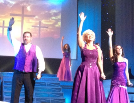 At Country Tonight Praise songs are spiritual and uplifting.