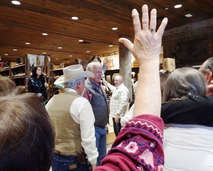 The epitome of Cowboy Church praise happens annually at Stages West Western Store in Pigeon Forge, TN