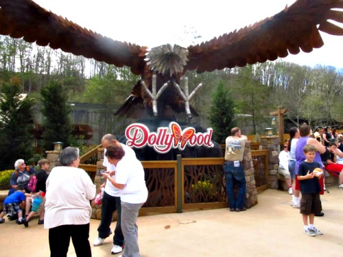 wild eagle in dolly-parton dollywood