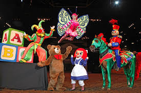 Toys come to life along with the Dolly Parton Dixie Stampede Plum Fairy.