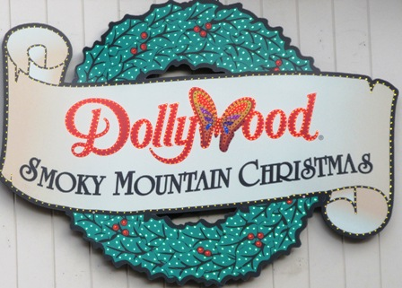 A Dollywood Smoky Mountain Christmas sign is sure to point you in the right direction for holiday fun!